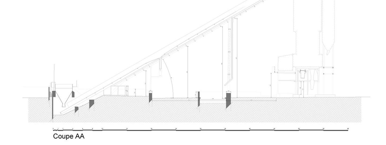 plans 2D d'une usine industrielle