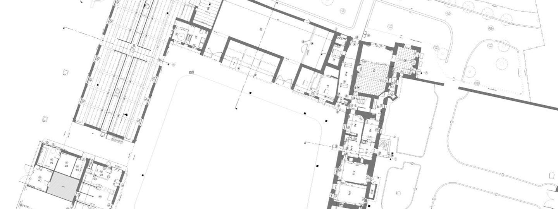 plans 2D d'un bâtiment